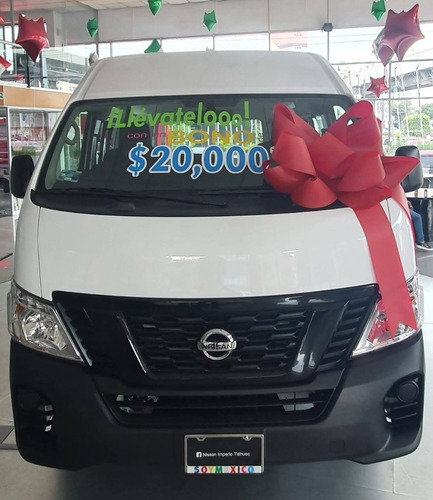 Imagen 1 de 4 de Nissan Urvan Panel Ventanas Amplia 2021 T/m