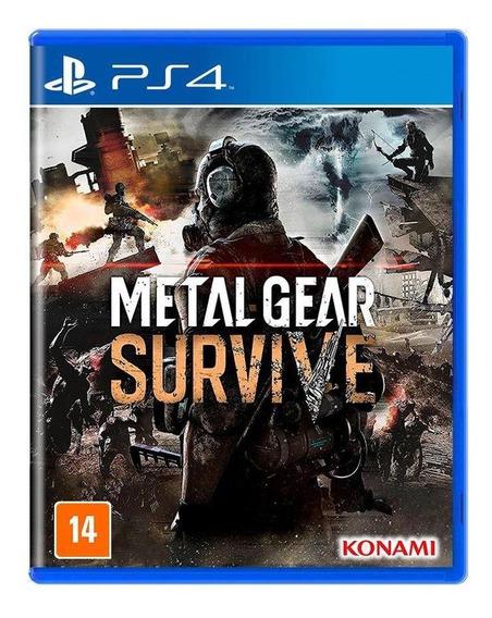 Metal Gear Survive Ps4 Mídia Física Novo Lacrado