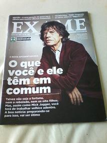Revista Exame Mick Jagger.