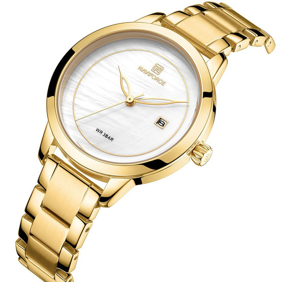 Relógio Feminino Fashion Naviforce 5008 Casual Lançamento