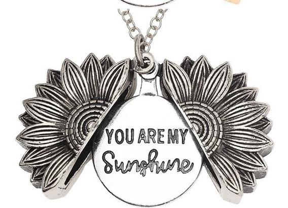 Un Collar Girasol You Are My Sunshine Fantasia Color A Elegi