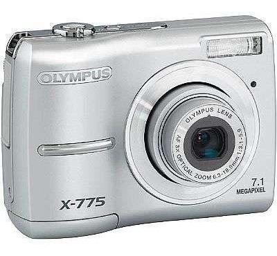 Camera Digital Olympus X-775 Pouco Usada