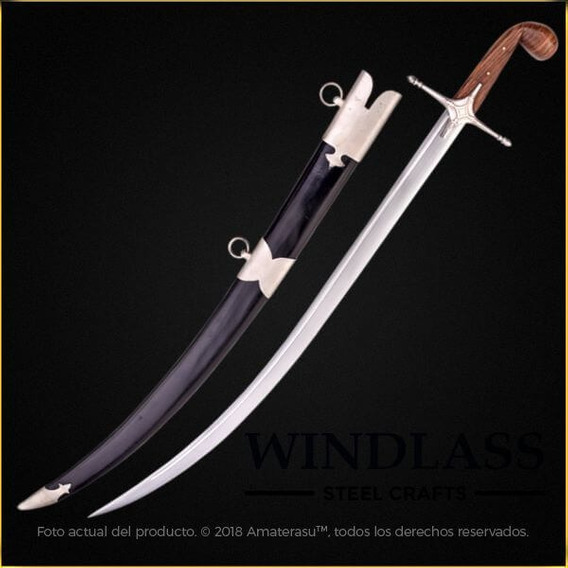 Espada Sable Cimitarra Arabe Windlass Marto Museo