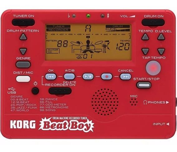Módulo De Bateria Eletronica Gravador Afinador Korg Beat Boy