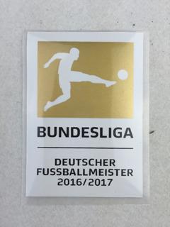 Patch Bundesliga Dourado 17/18 Campeão Bayern 16/17 Alemão