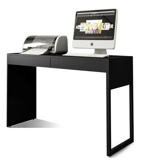 Mesa Para Escritório E Home Office Work Preto Fosco