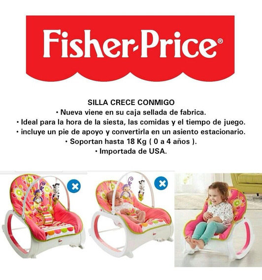 Silla Para Niña Fisher Price Crece Conmigo Nuevo Modelo