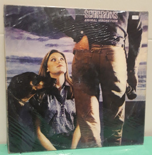 Scorpions Magnetismo Animal Magnetism Lp Vinilo 1985