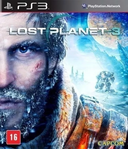 Lost Planet 3 Mídia Física Lacrado Ps3 + Brinde
