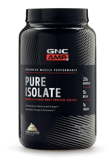 Proteína Isolate Pura Aislada Gnc 2lb
