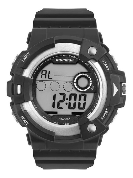 Relógio Mormaii Masculino Action Prata Mo15100aa/8k