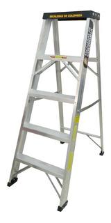 Escalera Tijera Tipo Ii Aluminio 5 Peldaños / 1.50 Metros