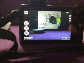 Cámara Samsung Nx2000 20.3mp Touch