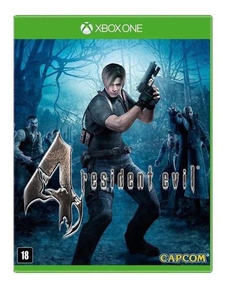 Resident Evil 4 Xbox One Mídia Física Nacional Lacrado Rj
