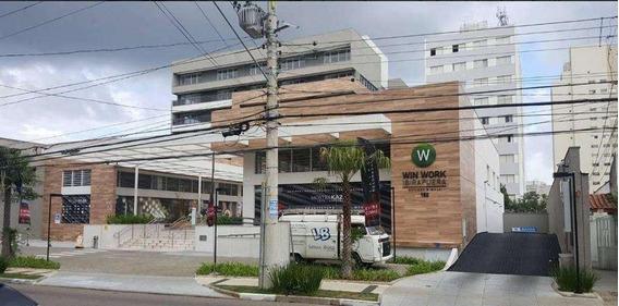 Sala Em Ibirapuera, São Paulo/sp De 119m² Para Locação R$ 8.000,00/mes - Sa284647