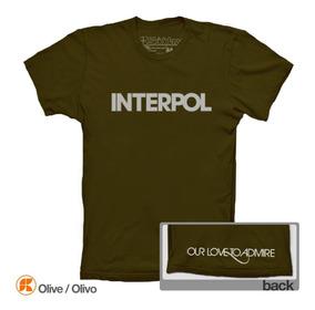 Playeras Interpol Our Love To Admire Paul Banks El Pintor