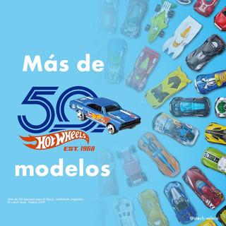 Paquete De 50 Carros Hot-wheels (90vs)