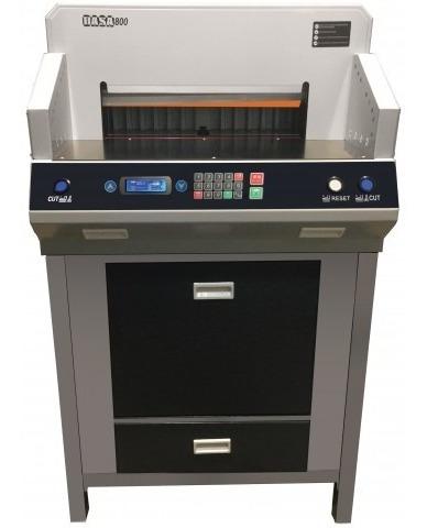 Guillotina Alta Capacid. Automatic 800 Electr Mesa+luz Laser