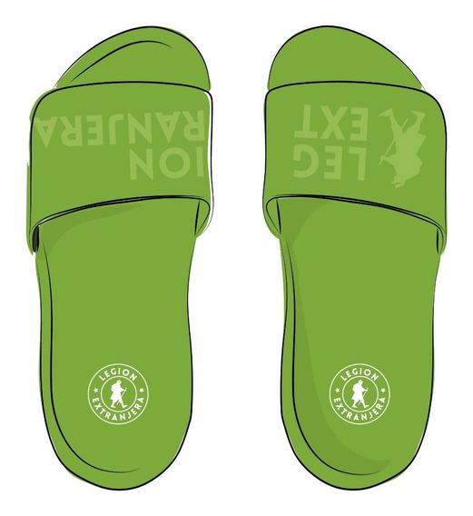 Slider Sandals Neon Verde