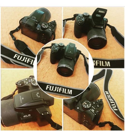 Fujifilm Finepix S8200 Preto Com Lcd 3.0, 16.2mp