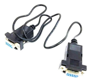 Cable Null Modem Serial Recovery Rs232 Db9 Hembra Hembra