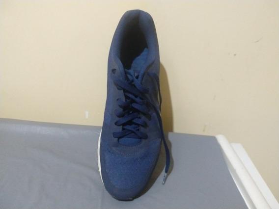 Tênis Nike ,semi-novo 41 ,azul Marinho E Branco,importado