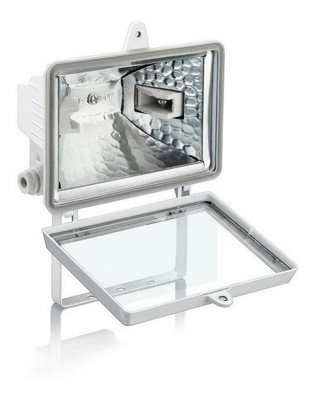 Kit 10 Refletor Elgin Branco Halógena Até 150w - Oferta