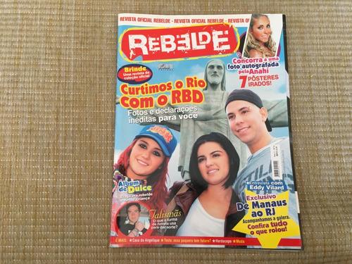 Revista Oficial Rebelde Curtimos O Rio Com Rbd Nº6  O563