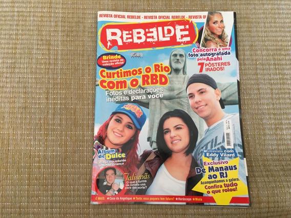 Revista Rebelde 6 Brasil Rio De Janeiro Músicas Dulce O563