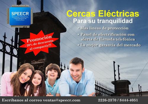 Imagen 1 de 10 de Cerca Eléctrica, Alambre Navaja, Cámaras, Alarma, Seguridad