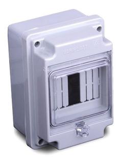 Caja Para Termicas Ip-54 Pilar 4 Bocas