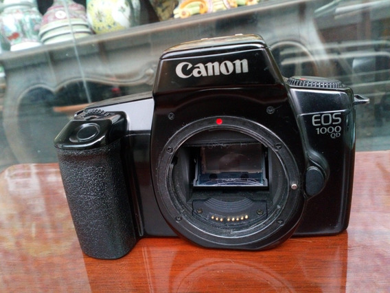 Maquina Fotográfica Analógica Canon Eos 1000 Qd Só O Corpo