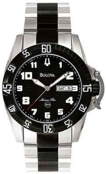 Relógio Bulova Marine Star Wb30800t Garantia Do Fabricante