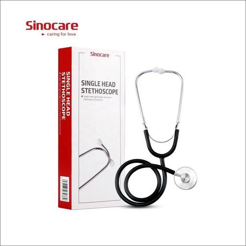 Imagen 1 de 8 de Estetoscopio Fonendoscopio Profesional Sinocare Certificado