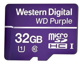 Cartão Micro Sd 32 Gb Intelbras Purple Intelbras