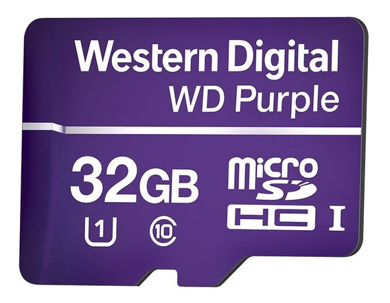 Cartão Micro Sd 32 Gb Intelbras Purple Intelbras