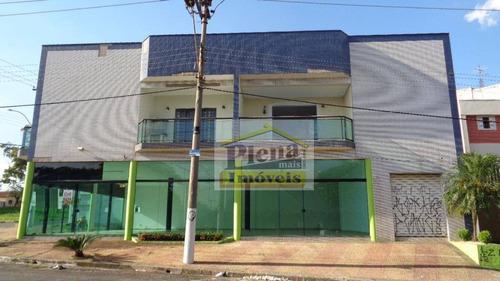 Salão  Comercial Para Locação, Vila Santa Terezinha, Sumaré. - Sl0377