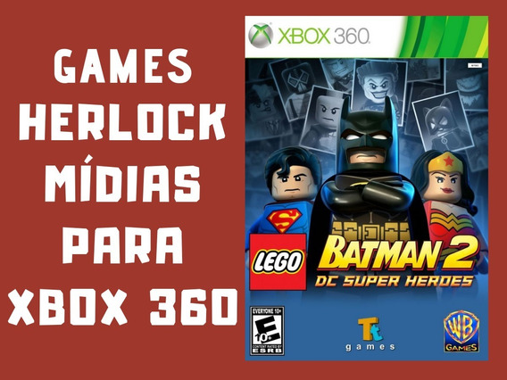Lego Batman 2 - Xbox 360 - Mídia Digital
