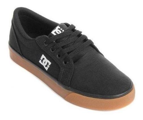 Tenis Dc Shoes Episo Preto Sola Caramelo Black/gum