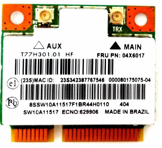 Placa De Rede Wifi Wireless Notebook Lenovo G400s Ar5b125
