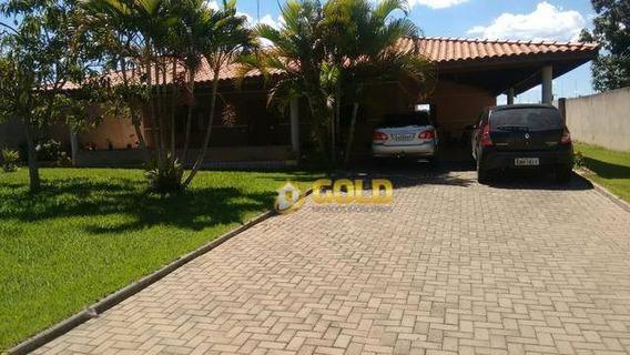 Chácara Com 4 Dormitórios À Venda, 900 M² Por R$ 700.000,00 - Balneario Tropical - Paulínia/sp - Ch0034