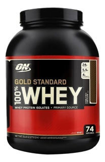 Whey Gold Standard On 73 Serv 5lb Double Rich Chocolate