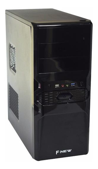 Cpu Quad Q6600 8gb Ddr3 Hd250 +fonte Real 500w + Wi-fi