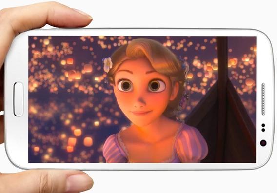 Video Tarjeta Invitación Virtual Rapunzel
