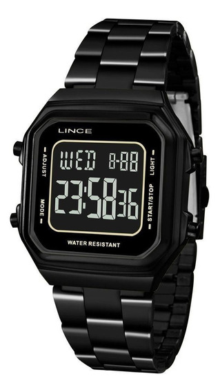 Relógio Lince Feminino Preto Sdn617la Pxpx Digital