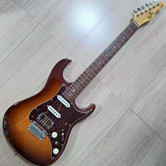 Guitarra Tagima Stella Handmade In Brazil Honey Burst E/tt