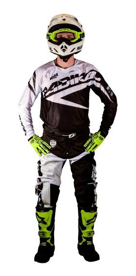 Jersey Motocross Radikal Mx Blanco (remera)