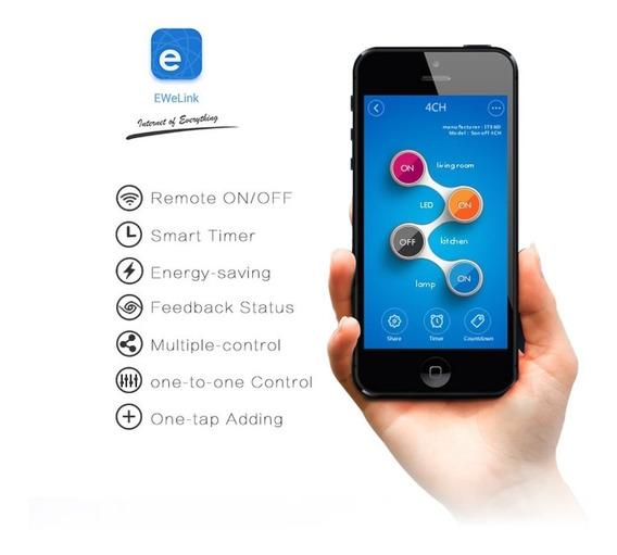 Sonoff 4ch Wifi Std - Automação - Envio Internacional