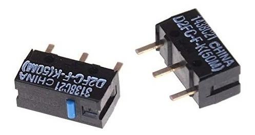Imagen 1 de 4 de 2 Switch Omron D2fc-f-k 50m  Mouse Logitech Asus Alienware