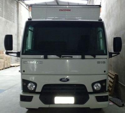 Ford Cargo 816 Branco Bau 2015
